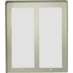 MD86 Hood cover with flush mounting frame in two rows MD73 MODY