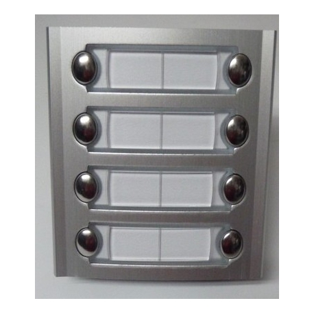 PL228S Auxiliary module with eight buttons