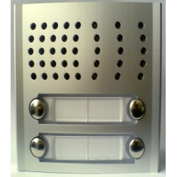 PL124P Profilo audio module with four buttons in two rows