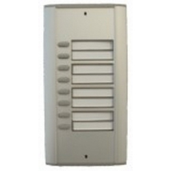 R8 Semi-modular door station with eight buttons