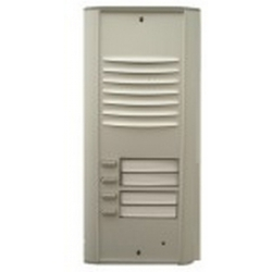 RP4 Semi-modular door station with four buttons